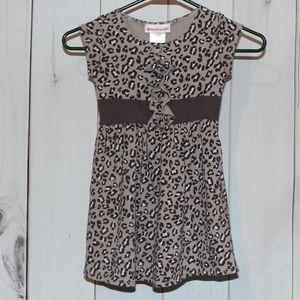 American Girl 6 Sweet Savannah Cheetah Dress